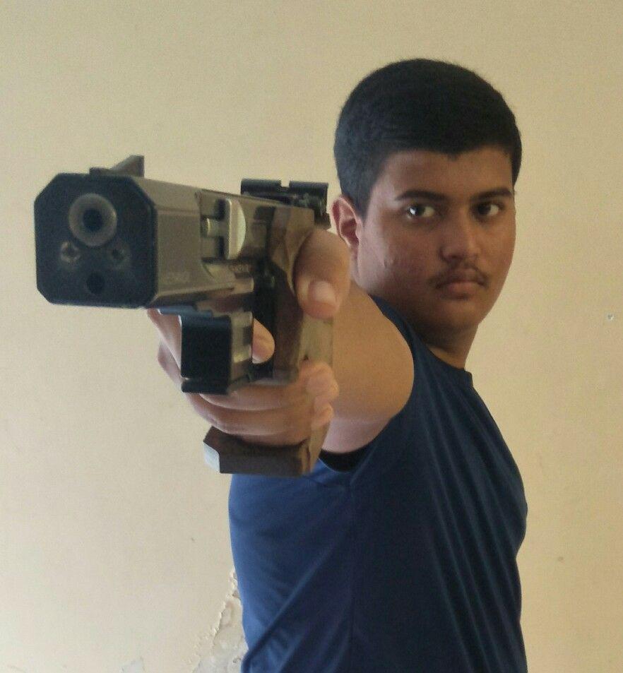 Viraj Vijay Rokde  Event: 10 Meter Air Pistol